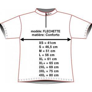 fléchette maillot belgique