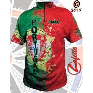 fléchette maillot portugal