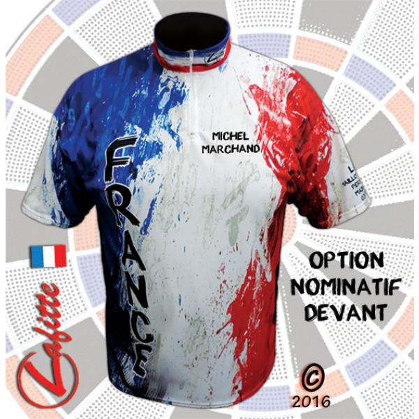 Textile Lafitte - Maillot de fléchettes personnalisé