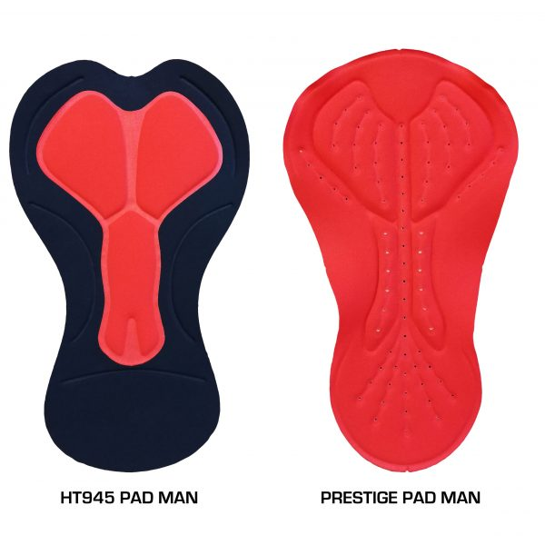 Textile Lafitte - Cycling bib shorts - HT945 Pad and Prestige Pad for men